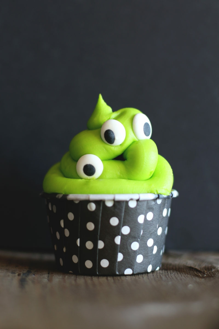 halloween party ideen mini kuchen backen ideen