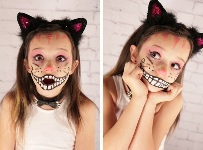 halloween schminke ideen kinder halloween party ideen