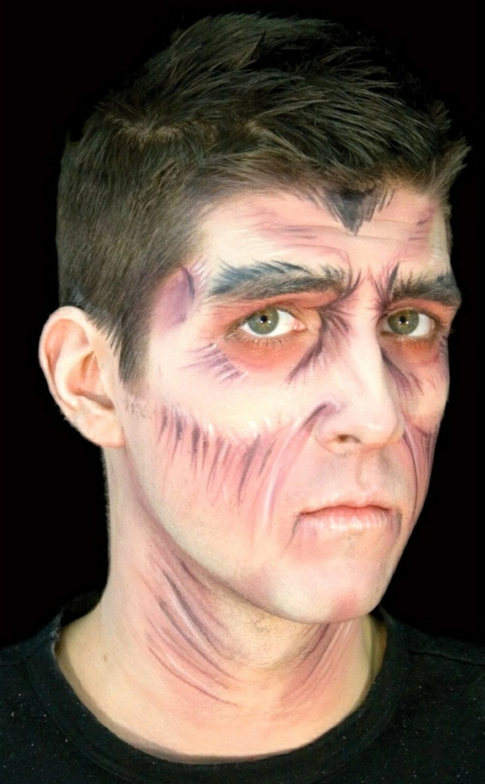 Künstlerisch Gesicht Bemalen Beste Wahl 24 Halloween Make Up Ideen – Das