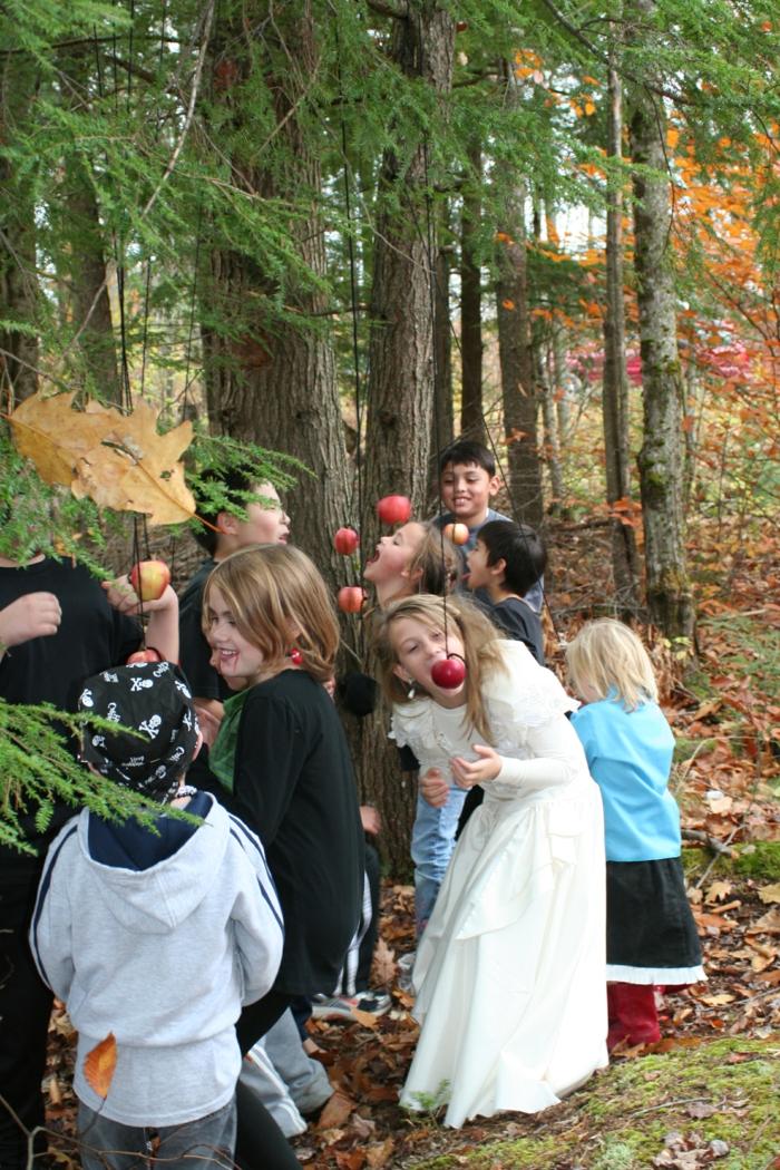 halloween ursprung ideen halloween spiele kinder amüsant