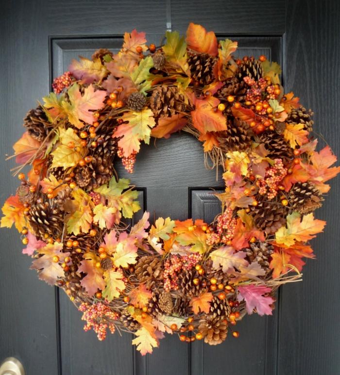 Bastelideen Herbst und originelle Dekoideen für eine heitere Stimmung