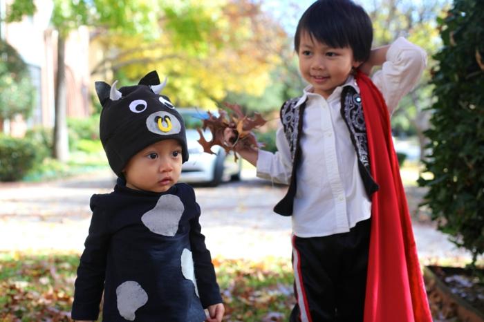 ideen für halloween kinderkostüme halloween