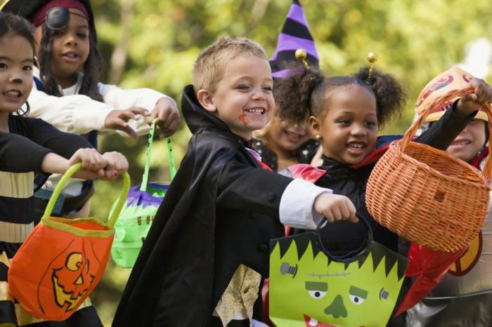 ideen für halloween kinderparty kostüme