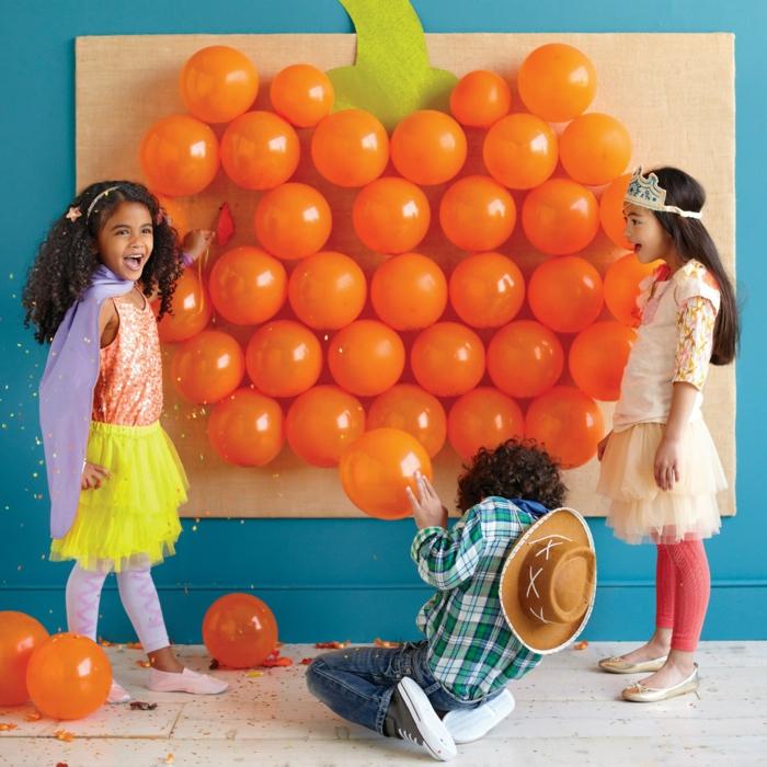 ideen für halloween kinderparty ideen kinderspiele organisieren