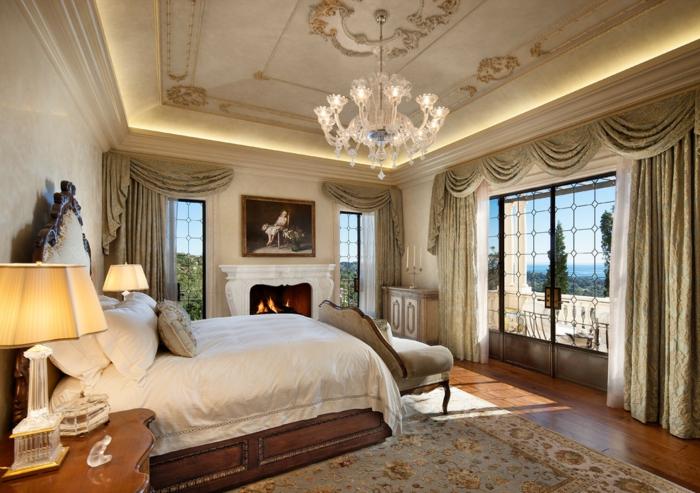ideen f r schlafzimmer wie gestaltet man die decke im schlafzimmer. Black Bedroom Furniture Sets. Home Design Ideas