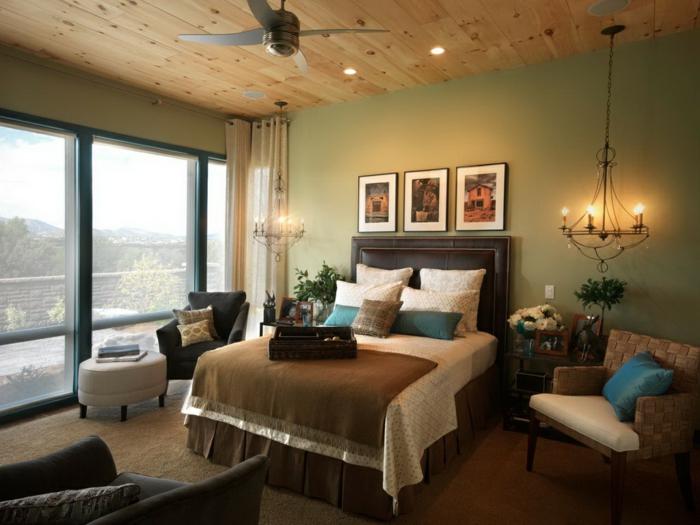 Schlafzimmer Holzdecke ~ Beste Inspirations-innenarchitektur Schlafzimmer Mit Holzdecke Einrichten
