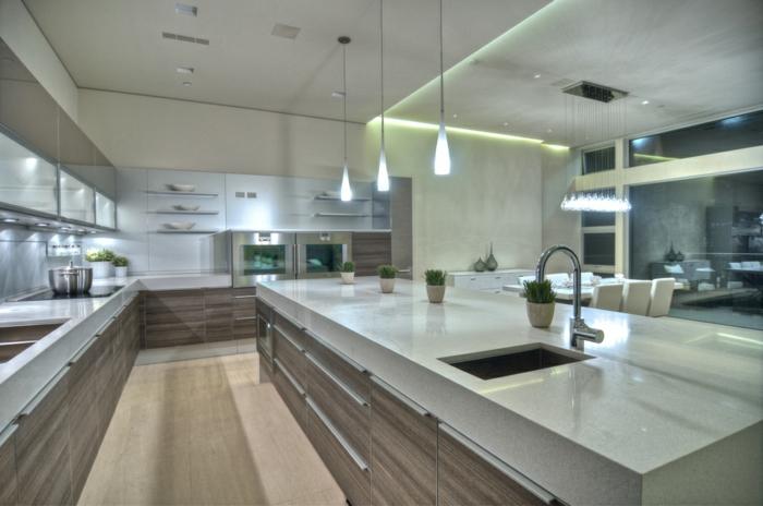 indirekte beleuchtung kücheneinrichtung