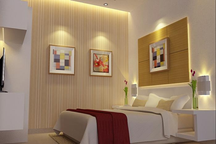 indirekte beleuchtung schlafzimmer einbauleuchten - Indirekte Beleuchtung Schlafzimmer