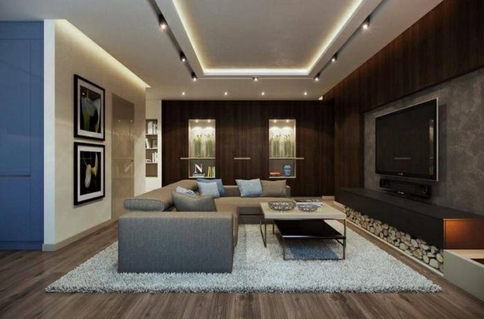 beleuchtung decke. schlafzimmer decken gestalten wohnzimmer ...