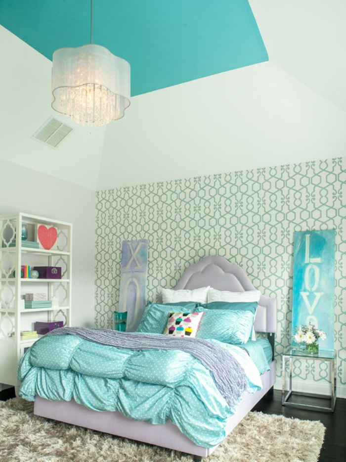modernes jugendzimmer f r m dchen gestalten. Black Bedroom Furniture Sets. Home Design Ideas