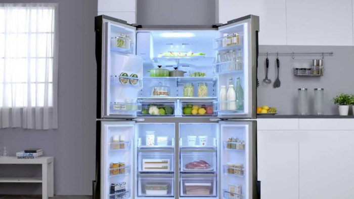 küche gestalten ideen moderne küchenmöbel kühlschränke