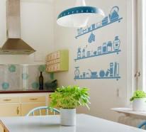 Küche · Wandfarbe · Wandgestaltung. Werbung