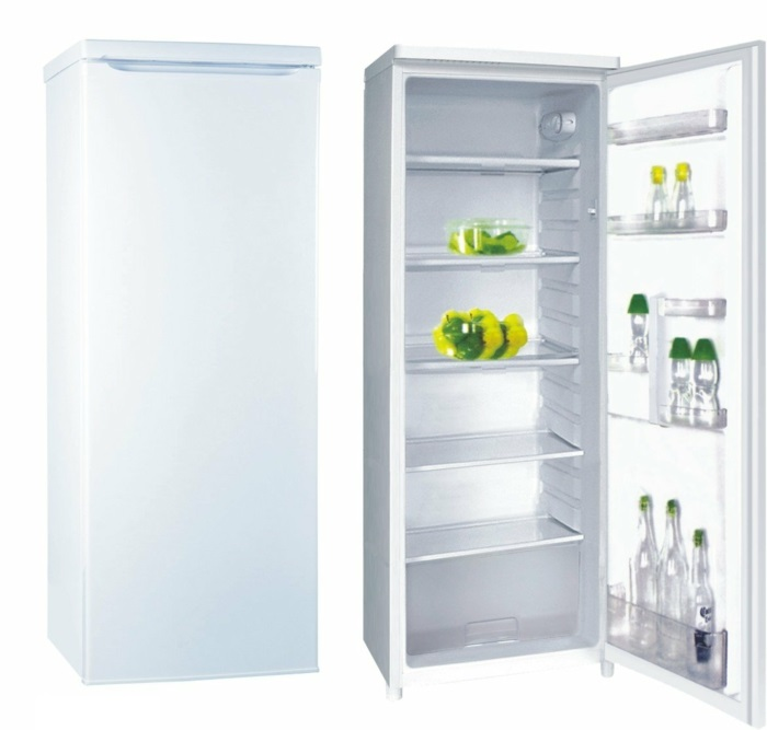 küchenmöbel moderne und große kühlschränke ohne gefrierfach