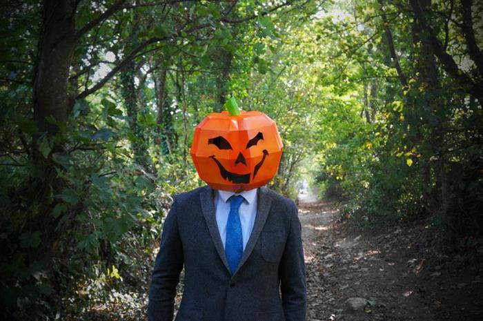 kürbis halloween maske von steve wintercroft