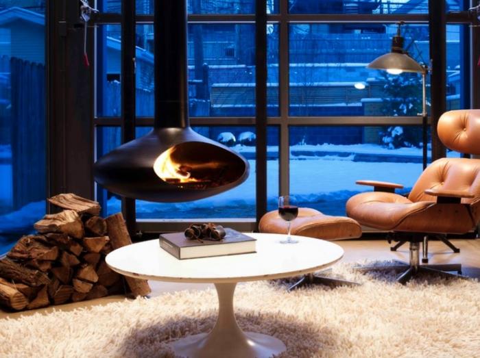 modernes kamin design f r ihr stilvolles zuhause. Black Bedroom Furniture Sets. Home Design Ideas