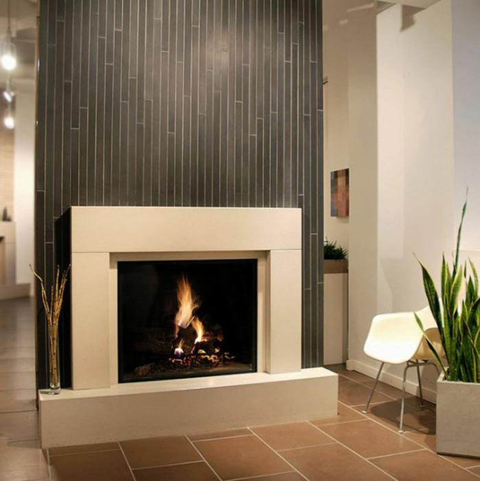 Kaminofen bringt gem tlichkeit und stil in ihr zuhause for Wandfarbe kamin