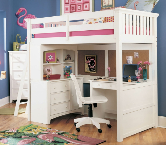 kinderbett mit stauraum macht das kinderzimmer funktionaler. Black Bedroom Furniture Sets. Home Design Ideas
