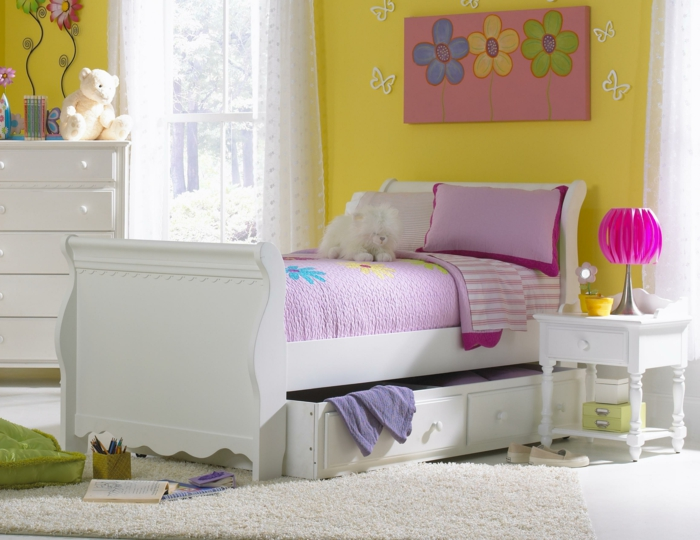 kinderbett mit good kinderbett mit unterbett bett mit. Black Bedroom Furniture Sets. Home Design Ideas
