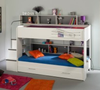 Kinderbett mit stauraum  ▷ Kinderbett - 1000 großartige Kinderbetten Designs und ...