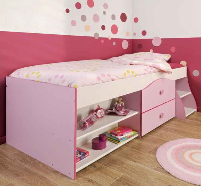 sch ne kinderbetten machen das kinderzimmer charmant und. Black Bedroom Furniture Sets. Home Design Ideas