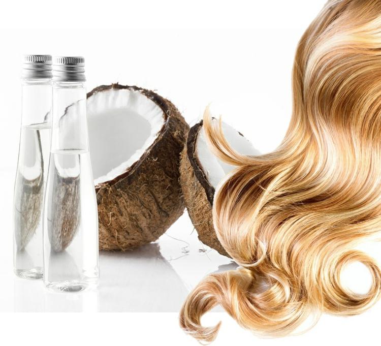 kokosöl gesund für die haare kokosöl wirkung