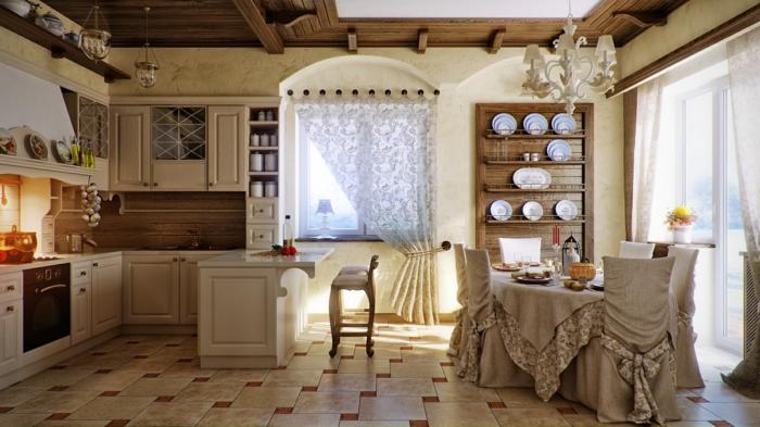 emejing wohnzimmer gardinen landhausstil pictures - house design ... - Vorhange Wohnzimmer Landhausstil