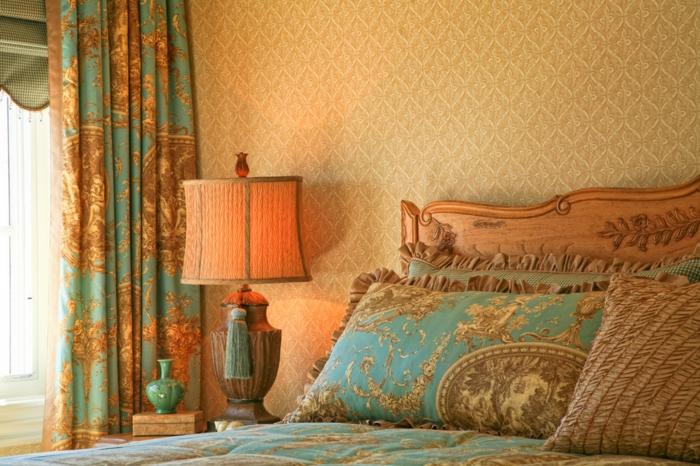 neobarock wohnzimmer:Was sollten Sie bei der Wahl von Gardinen im Landhausstil bedenken?
