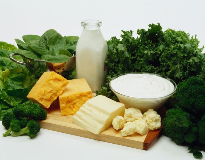 lebensmittel mit kalzium gesunde ernährung vitamin D lebensmittel