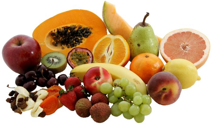lebensmittel mit kalzium obst und gemüse gesunde ernährung