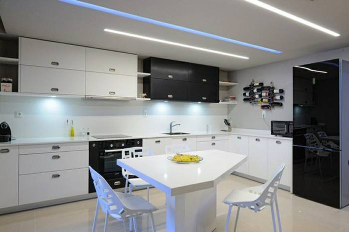 Led k chenbeleuchtung funktional und umweltschonend die for Kitchen ideas for apartment