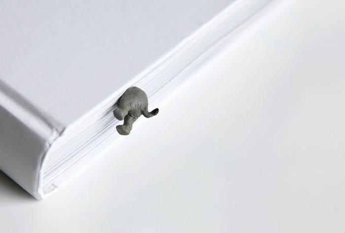 lesezeichen elefanten figuren bücherund lustige dekoartikel