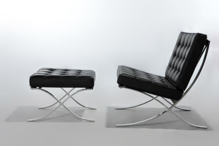 Ludwig mies van der rohe moderne architektur und m bel for Stuhl designgeschichte