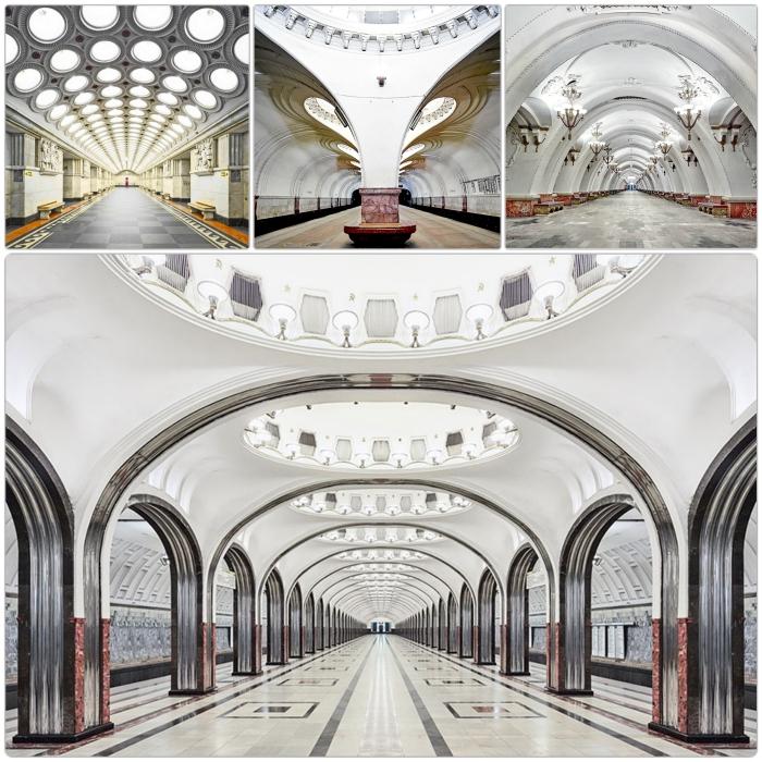 Metro Moskau - eine der schönsten U-Bahnen der Welt