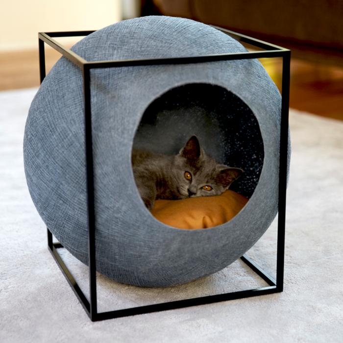 katzenm bel von meyou sind zugleich schicke wohnaccessoires. Black Bedroom Furniture Sets. Home Design Ideas