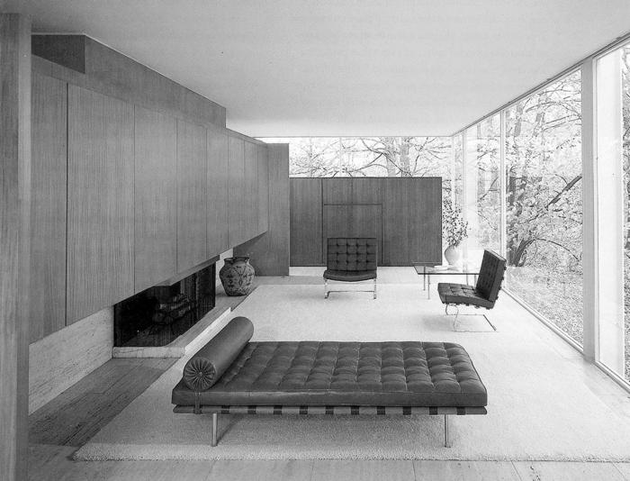 leben und schaffen von ludwig mies van der rohe nach der bauhaus bewegung. Black Bedroom Furniture Sets. Home Design Ideas