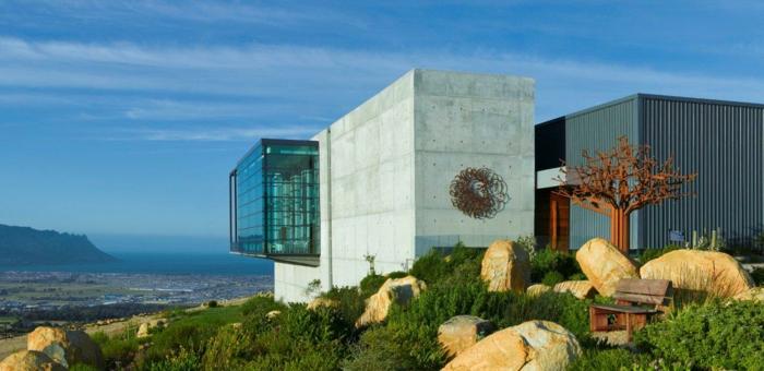 moderne architektur Waterkloof Winery Südafrika