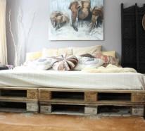 Modernes Schlafzimmer mit charmanten Bettideen