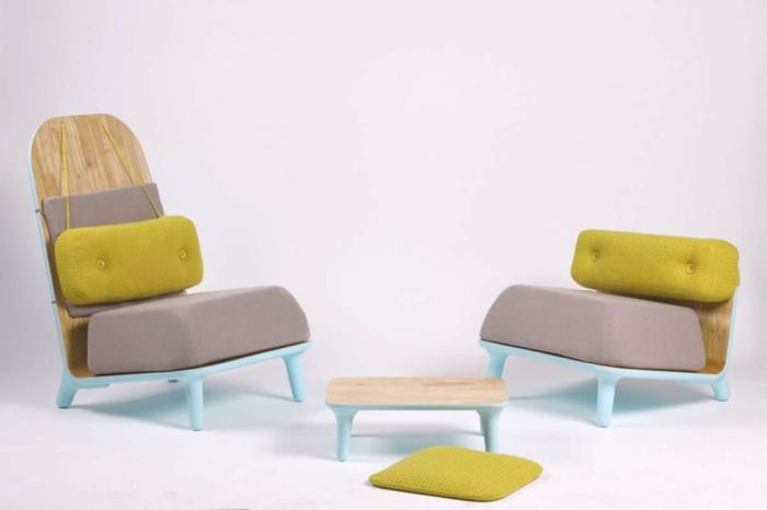 Moderne sessel sind echte hingucker im innendesign for Farbige sessel