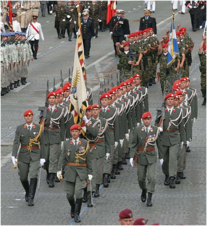 nationalfeiertag in österreich bundesheer parade