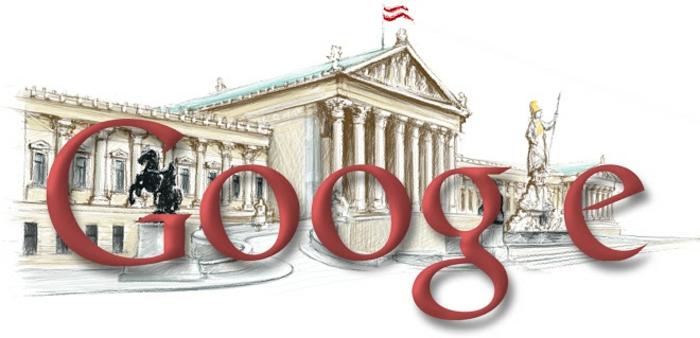 nationalfeiertag in österreich google doodle 2009