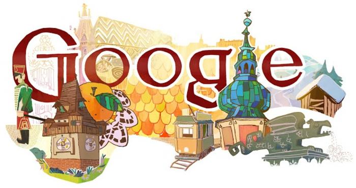 nationalfeiertag in österreich google doodle 2012