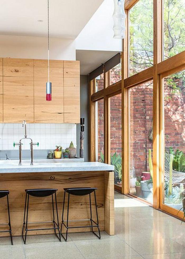 neue küchenfronten holzküche gestalten küchenfronten erneuern