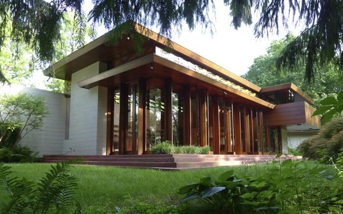 organische architektur Frank Lloyd Wright haus in New Jersey