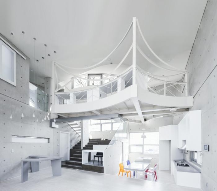 Organische Architektur Von Den Südkoreanischen Architekten
