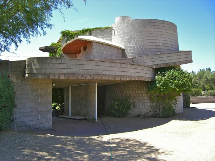 organische architektur werke von Frank Lloyd Wright