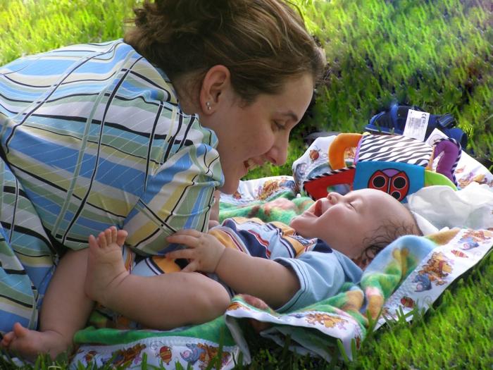 resilienz zuversicht liebe mutter kind