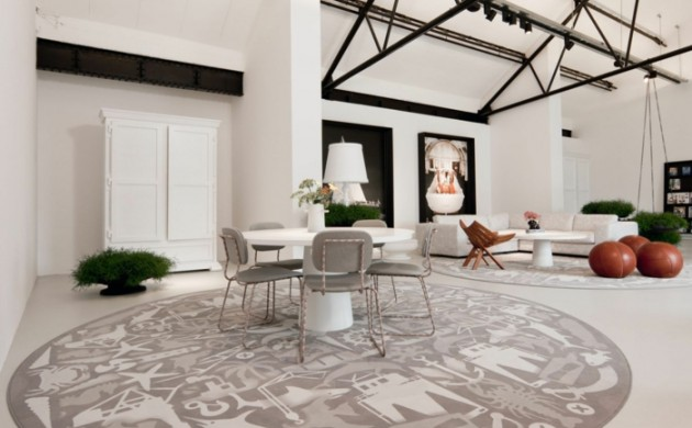 runder-teppich-bereiche-absondern-wohnzimmer