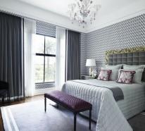 Schlafzimmer Tapeten Ideen - Wie Wandtapeten den Schlafzimmer-Look ...