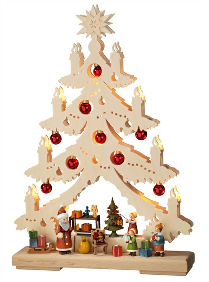 schwibbögen aus holz lichterbögen weihnachtliche dekoration