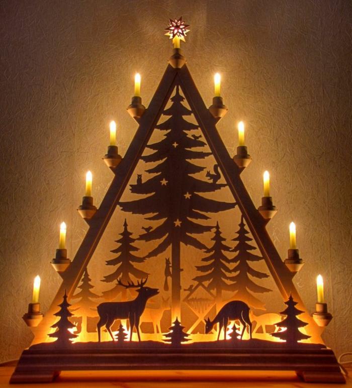 schwibbögen und lichterbögen weihnachten feiern